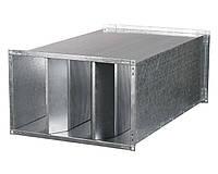 Прямоугольный канальный шумоглушитель 1000х500