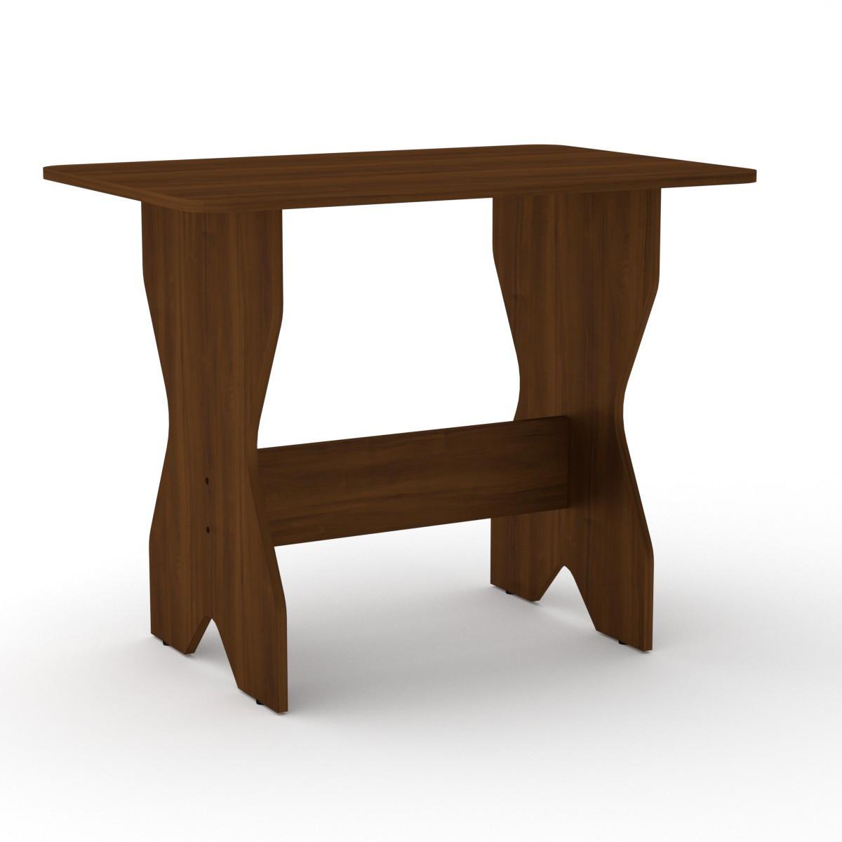 Стол кухонный КС-1 орех экко Компанит (90х59х72 см)