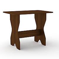 Стол кухонный КС-1 орех экко Компанит (90х59х72 см), фото 1