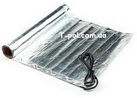 Фольгированный алюминиевый нагревательный мат In-therm Afmat 4 м2 под ламинат и линолеум