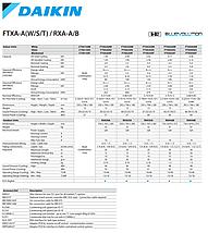 Сплит-система настенного типа Daikin FTXA 42 AW/RXA 42 A  , фото 3