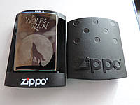 Зажигалка бензиновая Zippo (Зиппо) -«Wolfs-Rain»