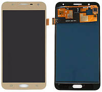 Дисплей (экран) Samsung J701 Galaxy J7 Neo (2017) TFT (с регулируемой подсветкой)с тачскрином, золотистый
