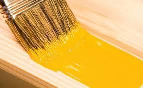 Грунт-эмаль 3 в 1 глянцевая (преобразователь ржавчины, грунтовка, эмаль) желтая (жовта)