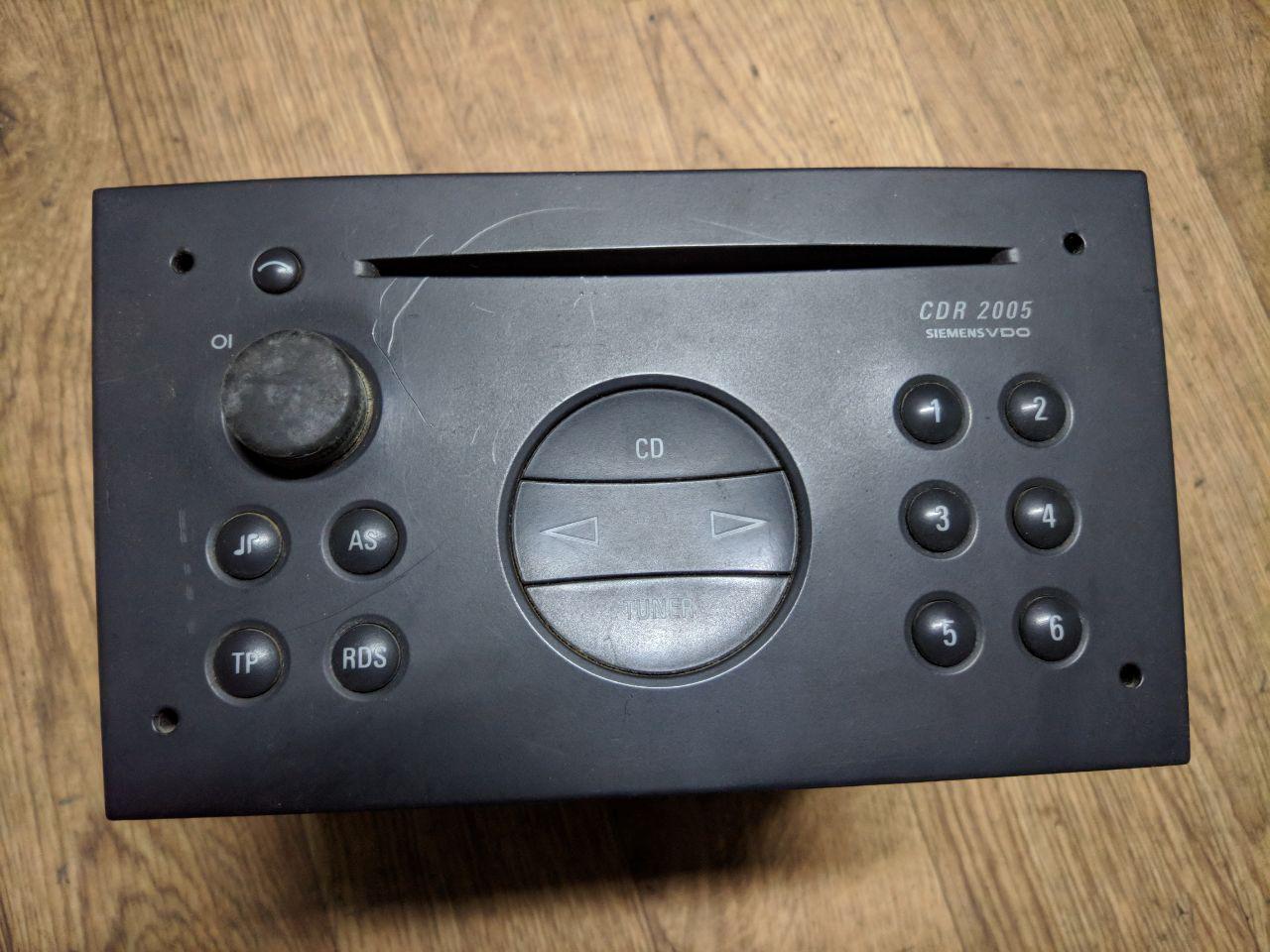 Магнітофон Opel Vivaro 2001-2014, VDO CDR-2005 (Б/У)