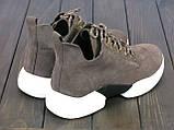 Женские кроссовки Lonza 6988-2 COFFE 36 23,5 см, фото 2