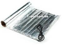 Фольгированный алюминиевый нагревательный мат In-therm Afmat 9 м2 под ламинат и линолеум
