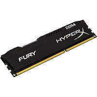 Память Kingston 4 GB DDR4 2400 MHz HyperX FURY (HX424C15FB/4), фото 1