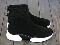 Женские кроссовки Lonza 6988 BLACK 36 23 см, фото 1