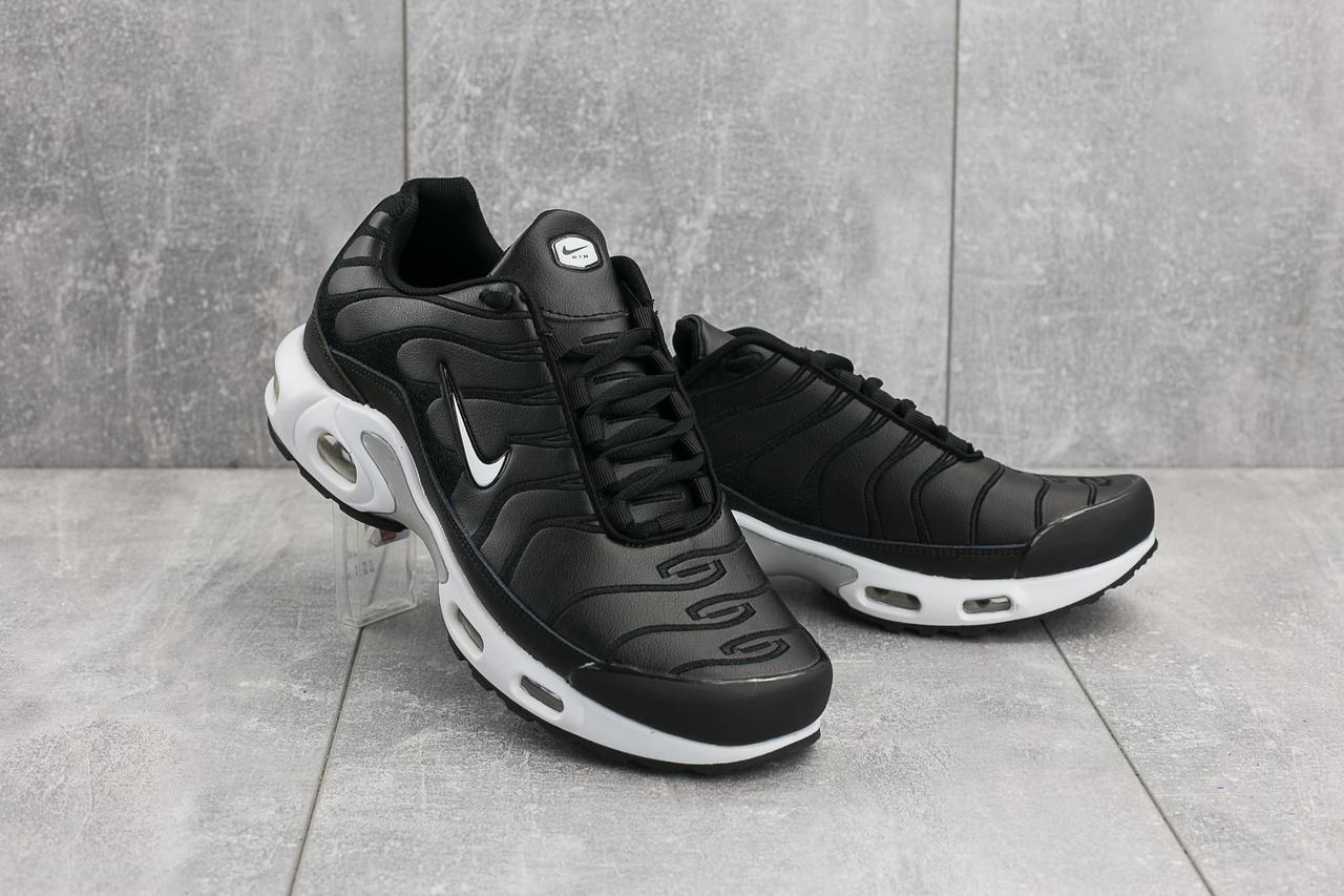 Мужские кроссовки искусственная кожа весна/осень черные Classica G 5068 -4