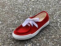 Мокасины женские на шнурках бардо Литма, фото 1