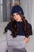 Комплект Аваланж (шапка и шарф-хомут), фото 1