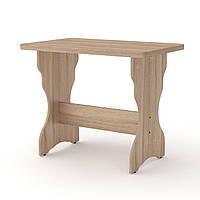 Стол кухонный КС-2 дуб сонома Компанит (90х60х71 см), фото 1
