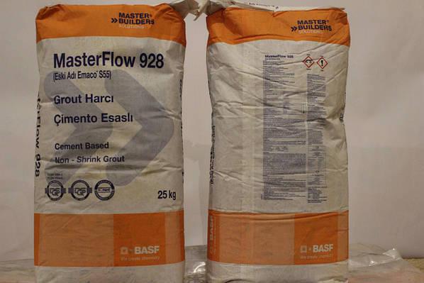 Смесь бетонная сухая безусадочная быстродействующая masterflow 928 emaco s55 бетон купить в выборге