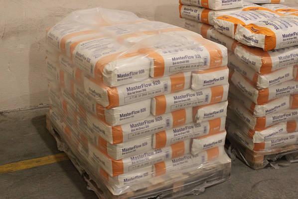 Смесь бетонная сухая безусадочная быстродействующая masterflow 928 цена удивительный мир бетона