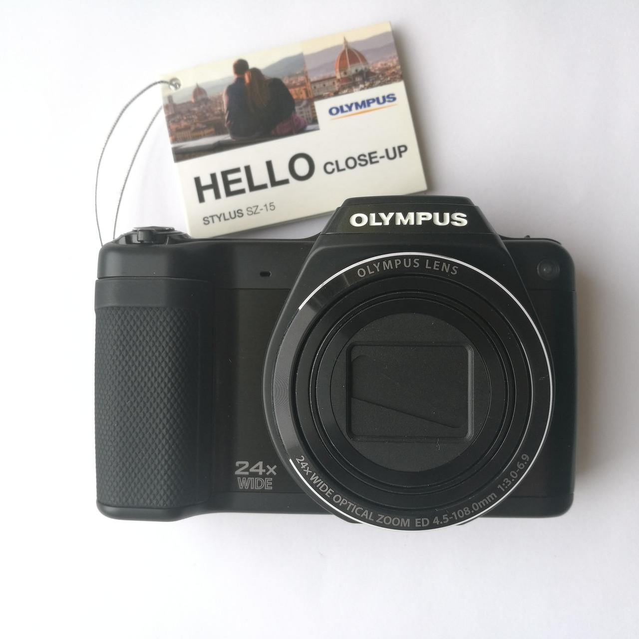 low priced 23998 5a866 Фотоаппарат OLYMPUS STYLUS SZ-15 Black Б У - Интернет-магазин компьютерной  техники