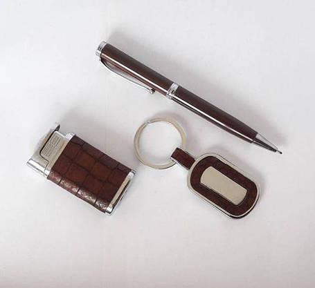 Подарочный Набор 3 в 1 (брелок, ручка, зажигалка), фото 2