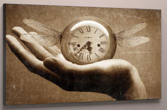 Картина часы холст 60х40