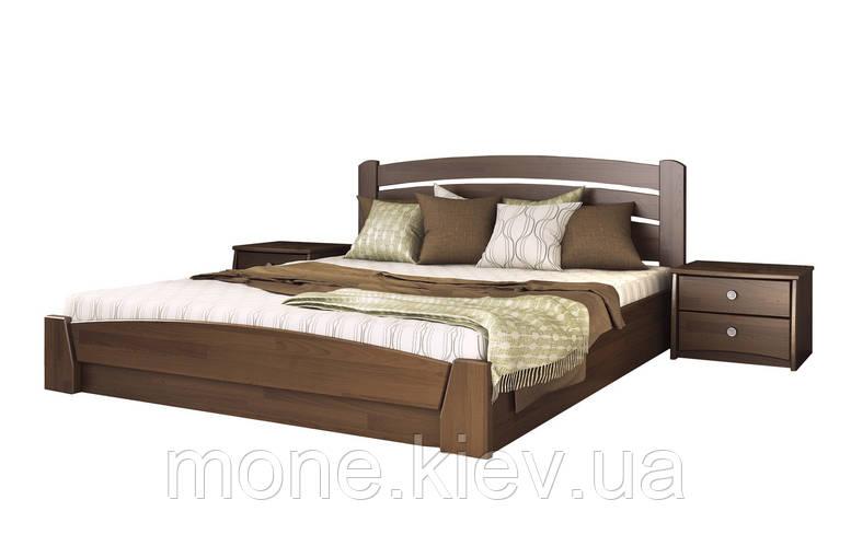 Кровать полуторная Селена Аури деревянная из бука , фото 2