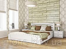 Кровать полуторная Селена Аури деревянная из бука , фото 3