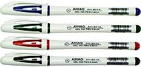Ручка гелевая Aihao-801 красная