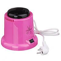 Стерилизатор для инструментов с шариками в комплекте,розовый
