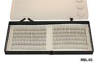 Ресницы на бел. ленте, 0,12-12 мм