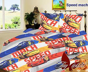 ТМ TAG Комплект постельного белья Speed mach. 1,5 спальный детский