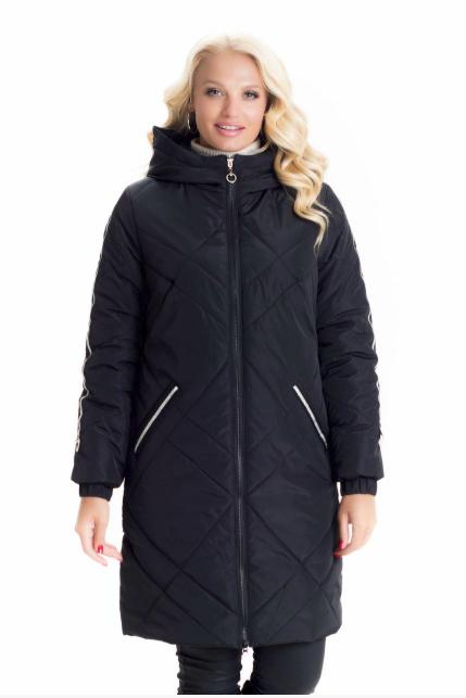 501f232733b Демисезонная куртка женская весна-осень деми в большом размере недорого  Украина р. 42-60