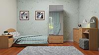Спальня с кроватью 90