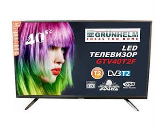 Телевизор Grunhelm GTV40T2F (40'', Full HD, T2)