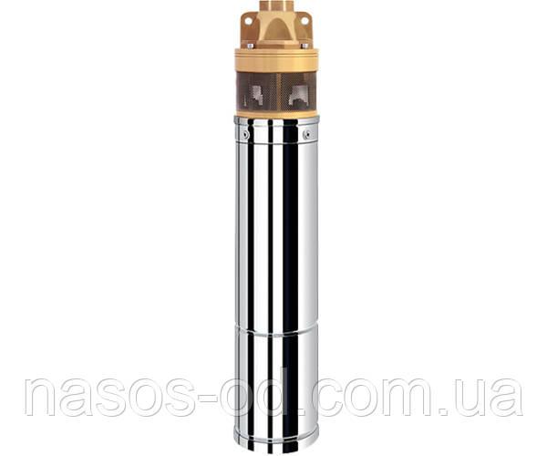 Насос глубинный вихревой Delta 4SKM100 для скважин 0.75кВт Hmax47м Qmax45л/мин Ø100мм (кабель 10м)