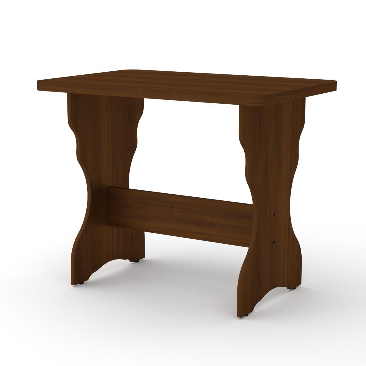 Стол кухонный КС-3 орех экко Компанит (90х59х73 см)