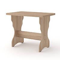 Стол кухонный КС-3 дуб сонома Компанит (90х59х73 см), фото 1
