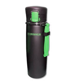 Термокружка Grunhelm GTC501 (500мл, черно-зеленая)