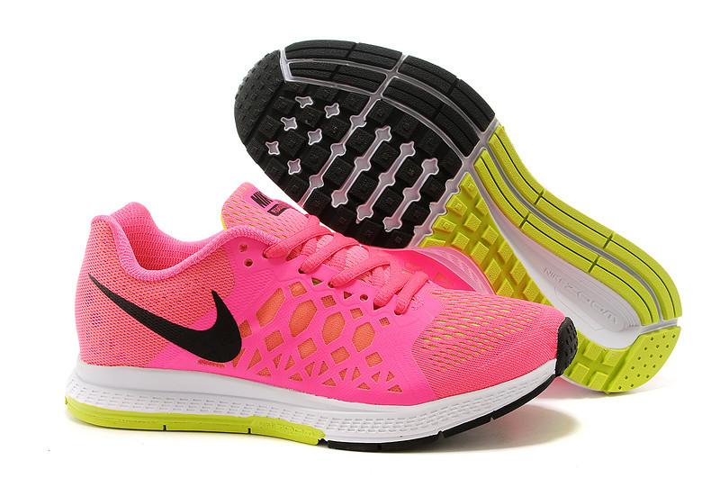Кроссовки женские Nike Free Run 5.0 Pegasus розовые с черным