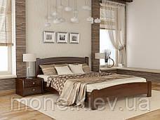 Ліжко полуторне Венеція дерев'яні з бука, фото 2