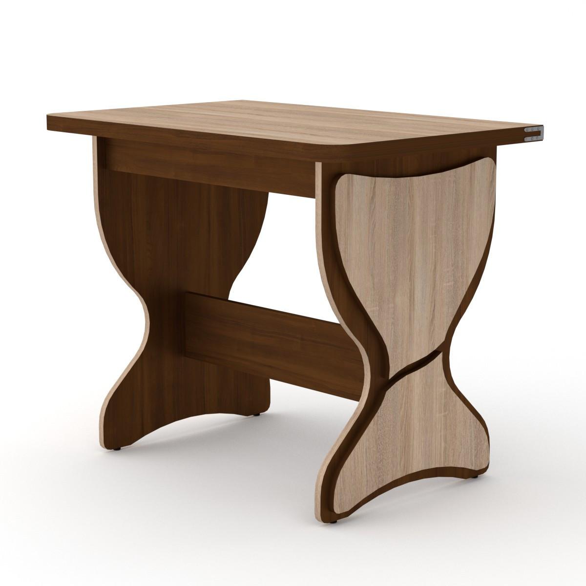 Стол кухонный КС-4 дуб сонома Компанит (90х59х73 см)