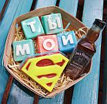 Набор Супермен  Мужское мыло ручной работы Подарок Мужчине, фото 2