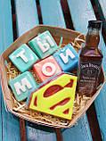 Набор Супермен  Мужское мыло ручной работы Подарок Мужчине, фото 3