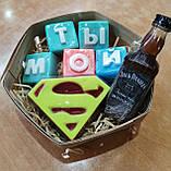 Набор Супермен  Мужское мыло ручной работы Подарок Мужчине, фото 5