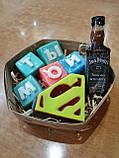 Набор Супермен  Мужское мыло ручной работы Подарок Мужчине, фото 6