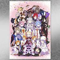 Плакат Аниме Re:Zero 11
