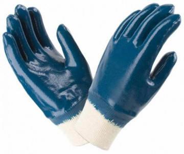 Перчатки Werk WE2112 (трикотаж/нитрил, синие), фото 2