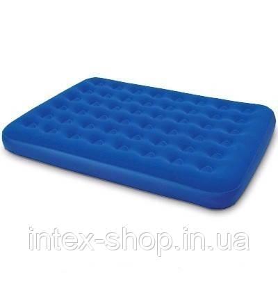 Двуспальный ортопедический надувной матрас BestWay 67003 (203х152х23 см.)