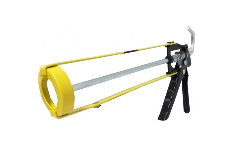 Пистолет для герметика Сталь (скелетный, профессиональный)