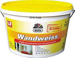 Интерьерная акриловая матовая краска Dufa Wandweiss D1 - для стен и потолка