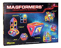 Конструктор магнитный 005A MAGFORMERS 18 деталей в коробке