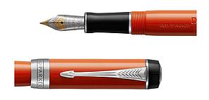 Ручка перьевая Parker DUOFOLD BIG RED CT, фото 2