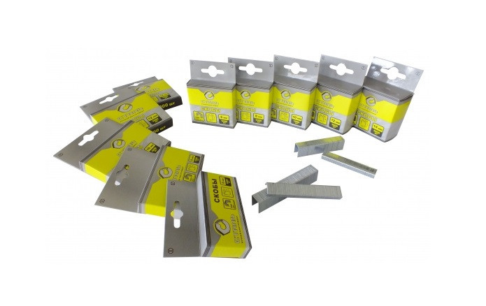 Скобы для строительного степлера Сталь 12*10,6мм